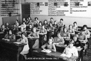 1962 CM1 Helene KRUSINSKI recadre copie