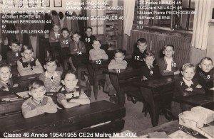 Cl 46 au CE2d en 1954_55 M