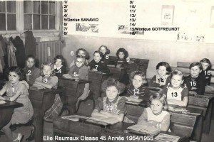 cl45 annee 1954-1955 Mme BESLE le 16.11.54