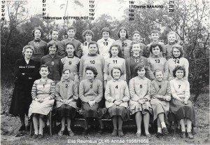 cl45 annee 1958-1959 Mme FOTRE copie