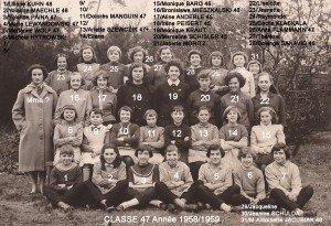 cl47 filles 3 Adamski année 58-59 copie