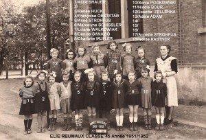 classe 45 année 1951-1952 copie