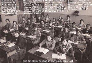 classe 47 année 1960 copie