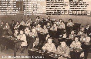 classe 47 année copie