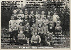 classe 48 année 1958-1959 copie