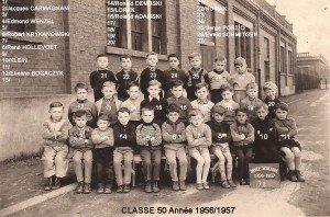 classe 50 année 1956-1957 copie