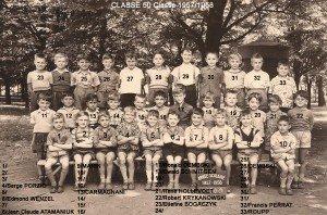 classe 50 année 1957-1958 copie