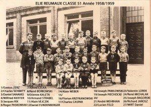 classe 51 année 1958-1959 copie