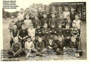 classe 54 année 65-66 copie