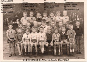 classe 55 année 61-62 copie