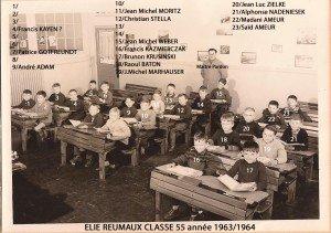 classe 55 année 63-64 copie