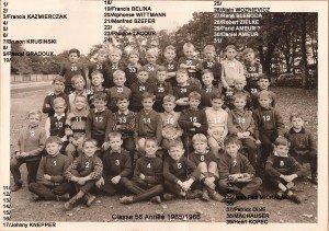 classe 56 année 1965-1966 copie