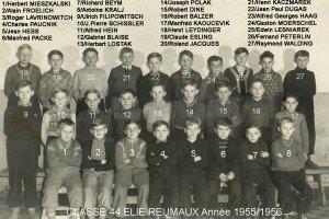 Ecole Elie Reumaux année 1955 1956 copie