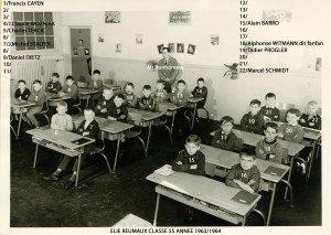 Ecole Primaire Elie Reumaux 1963-1964 061 copie