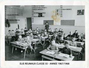 Ecole Primaire Elie Reumaux 1967-1968  063 copie