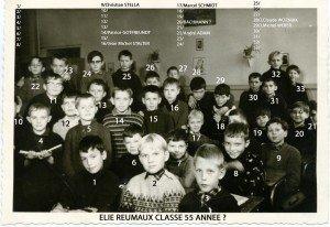 Ecole Primaire Elie Reumaux Hochwald 1960 056 copie