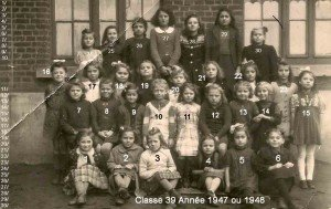 Ecole REUMAUX,,1947 ou1948 copie