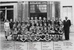 garcons 1958-1959 noms