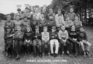 garcons 1964-1965 noms