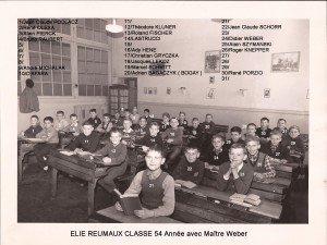 primaire classe 54 année avec Maître Weber copie
